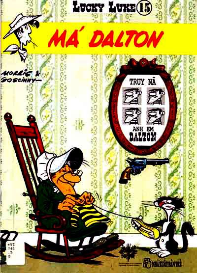 Lucky Luke tap 15 - ma dalton trang 1