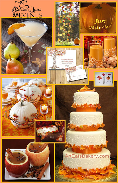 A Simple and Elegant Fall Wedding