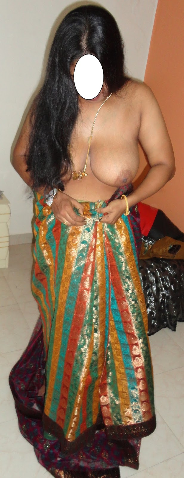 Saree stripped very sexy, dont wanna short dick man