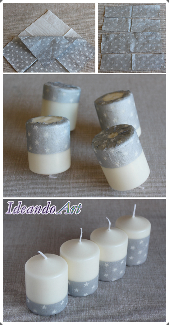 Tutorial velas servilletas