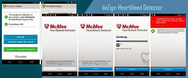 Android Heartbleed Detector