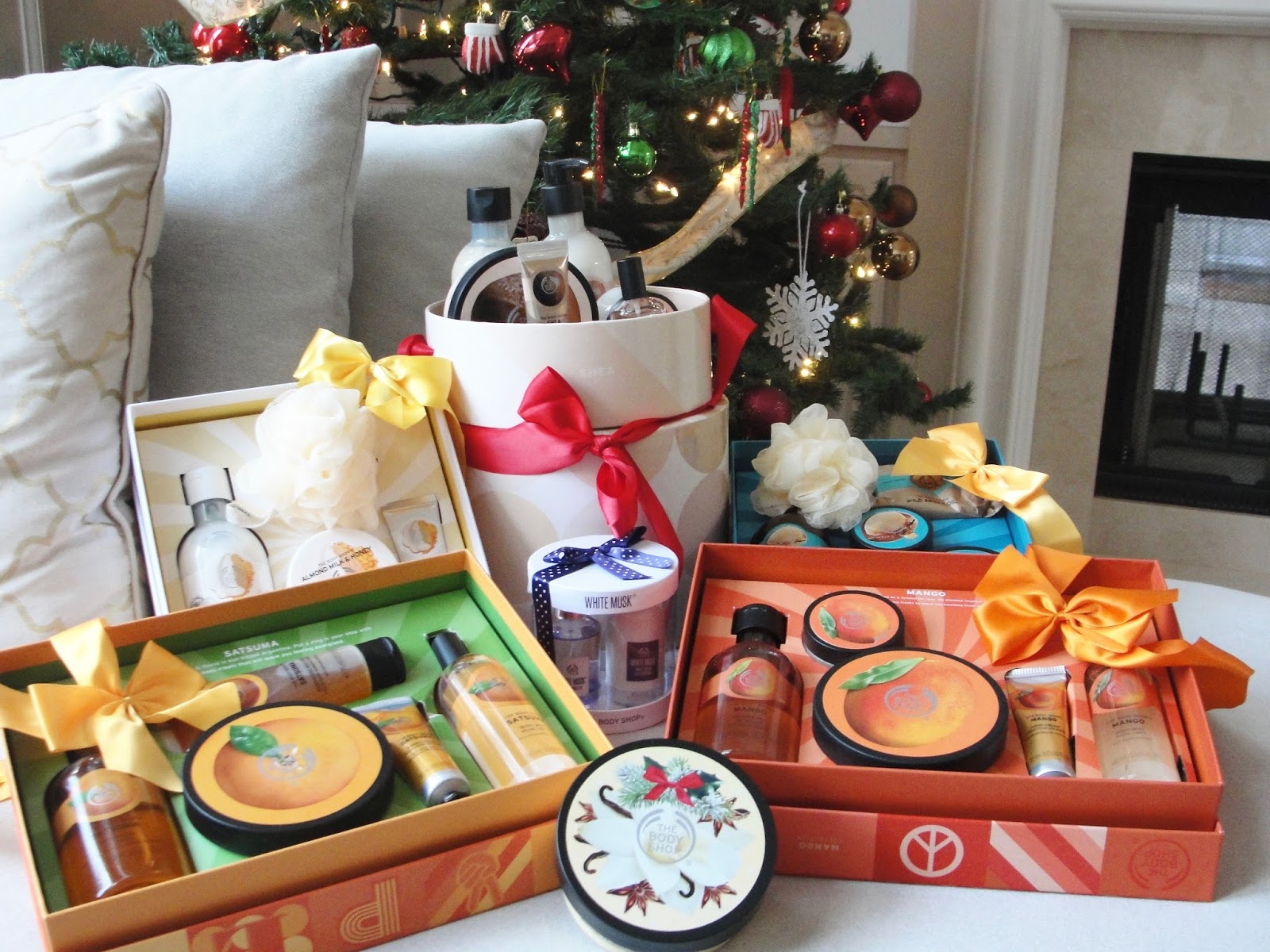 BEST CHRISTMAS GIFTS FROM THE BODY SHOP!