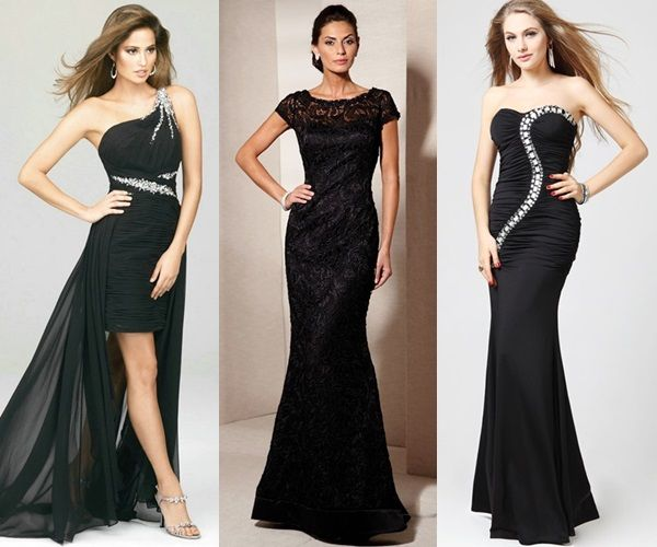 What To Wear With A Black Dress To A Wedding