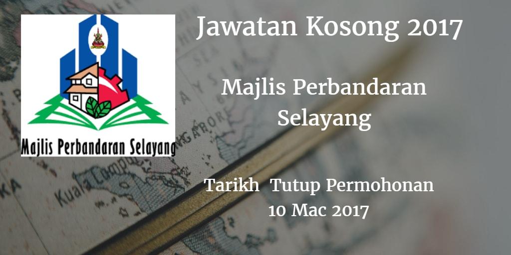 Jawatan Kosong MPS 10 Mac 2017