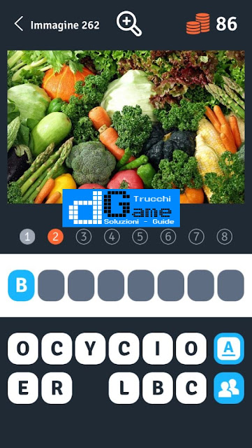 Soluzioni 1 Immagine 8 Parole soluzione livello 261-270