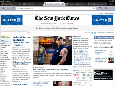 iChromy Another Alternative Browser For The iPhone