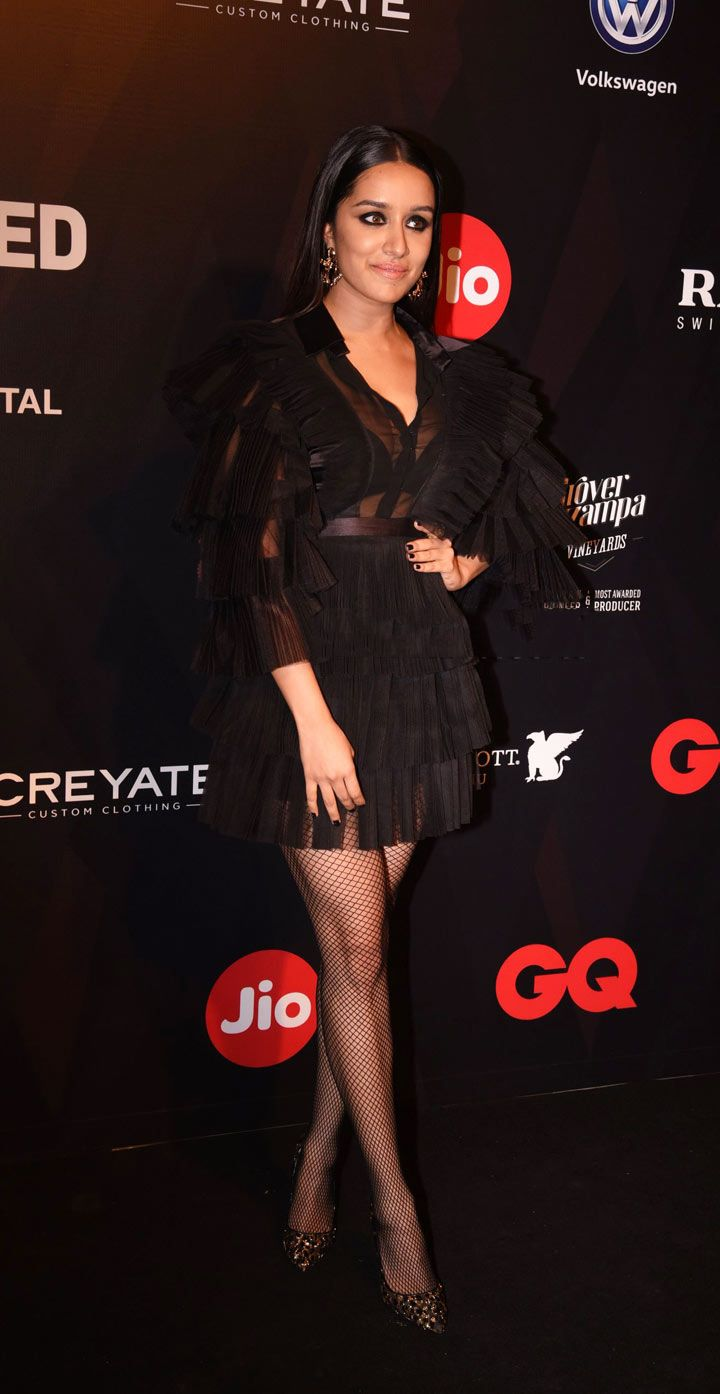 Shraddha Kapoor at GQ Best Dressed Party Photo Gallery