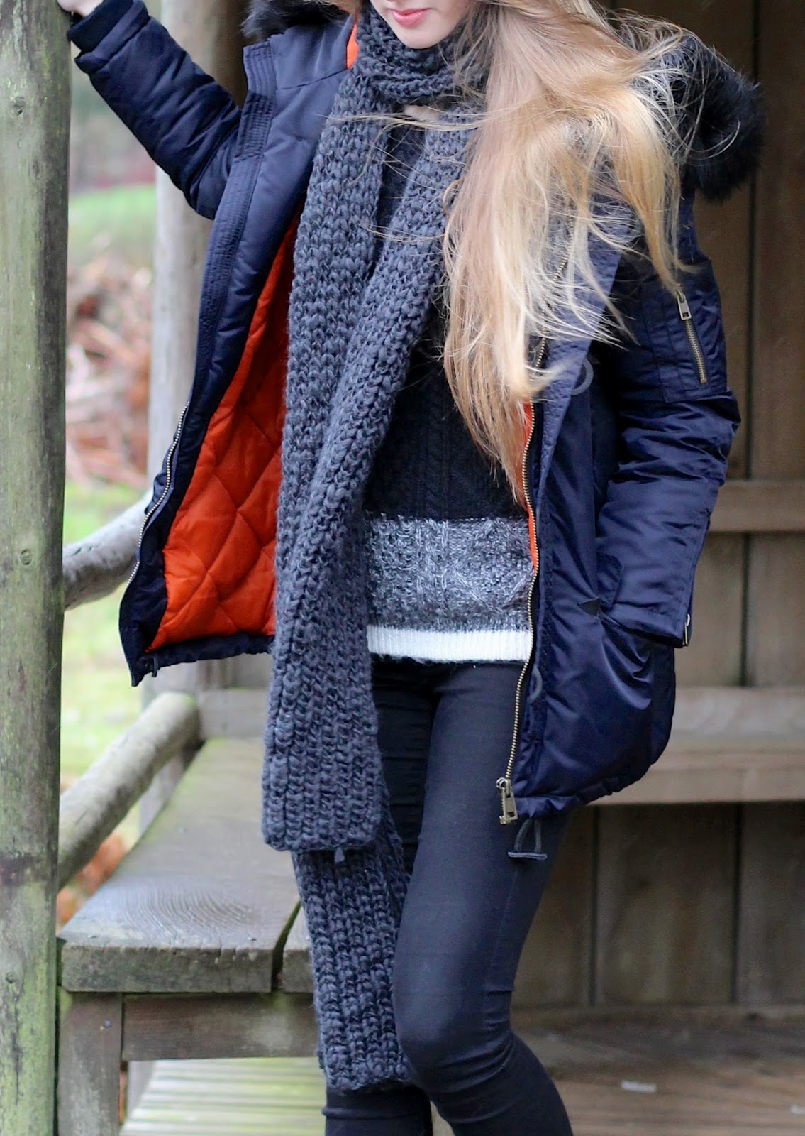 fashion blog winter layering