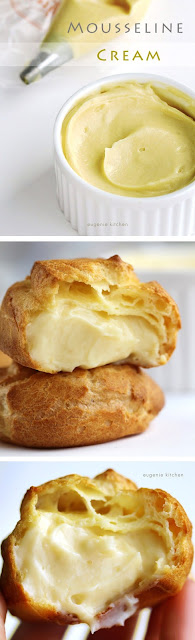 What cream produce you lot usage for your cream puffs Mousseline Cream, Fancier Than Pastry Cream - Easy To Make Dessert