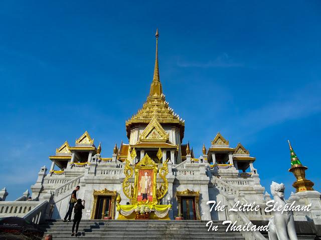 Wat Traimit in Bangkok, Thailand