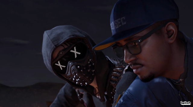WATCH DOGS 2 goggles guy emotions text faces dedsec