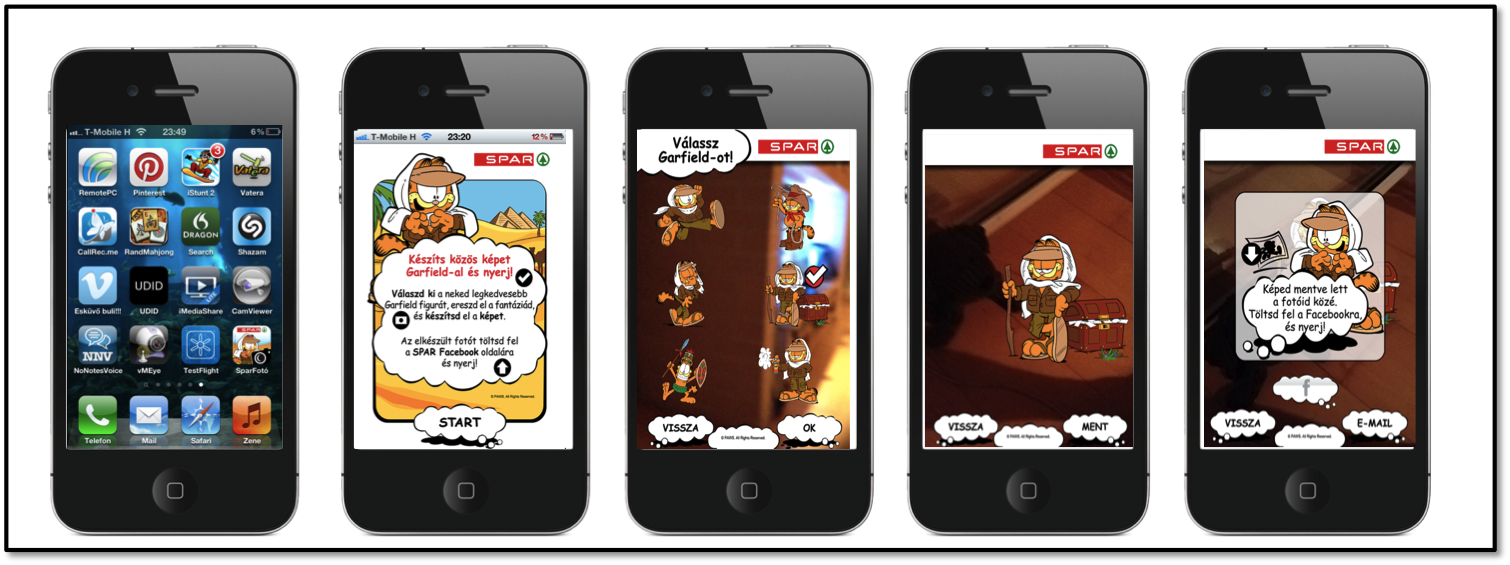 Catch garfield if you can   arworks worldwide augmented reality.