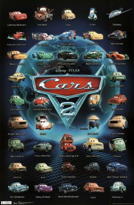 Disney Cars 2 Movie | Car Interior Design