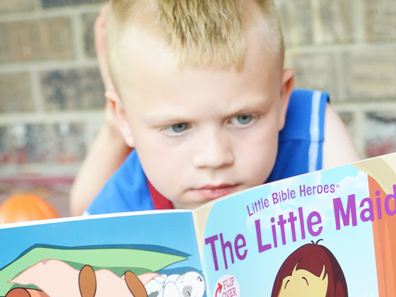 Your Kids Will FLIP for Little Bible Heroes {A Book Review & Giveaway} #FCBlogger