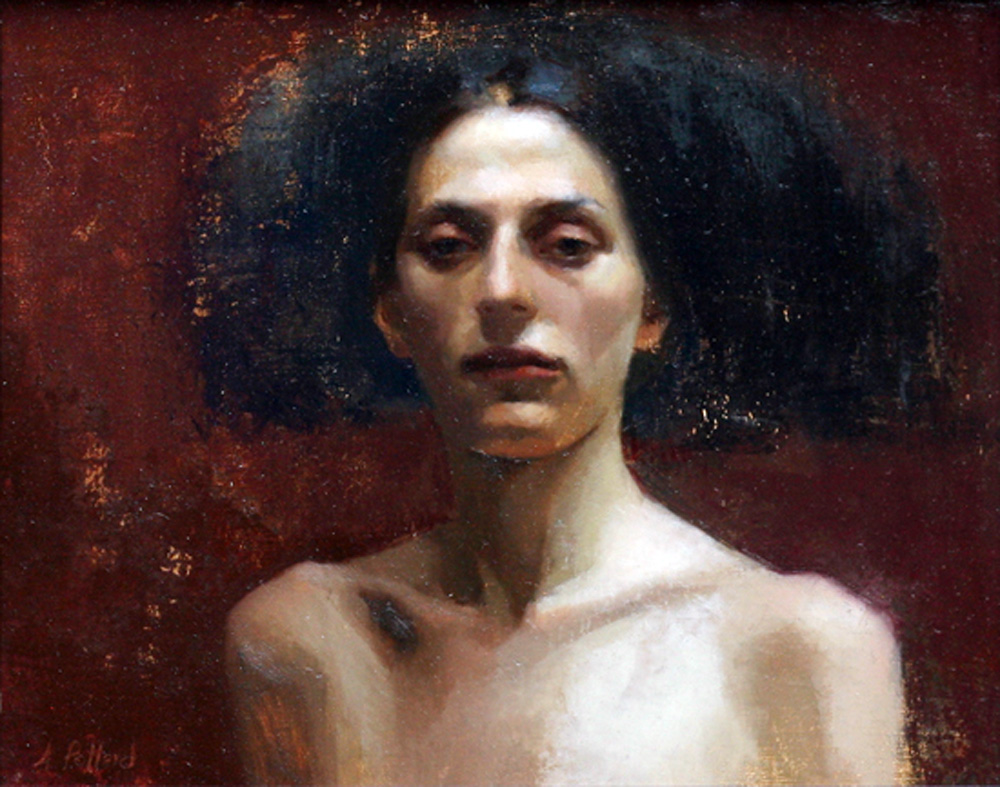 Anna Marie Horsford Nude Simple portraits of painters: anastasia pollard