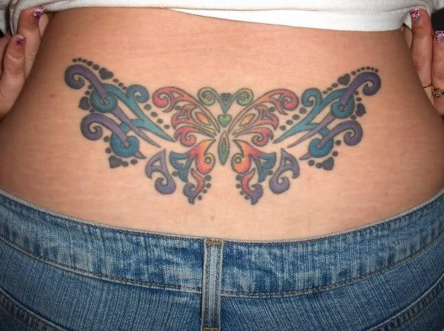 Tattoo Designs Lower Back Tattoos