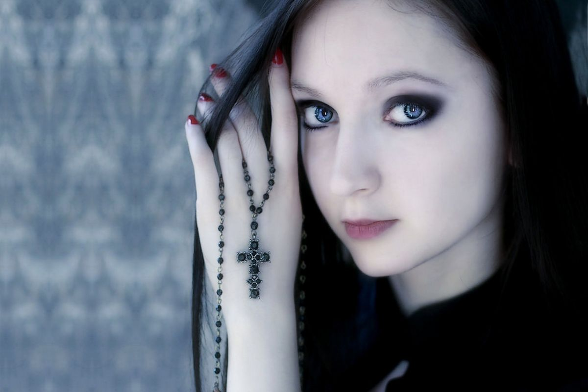 gothic girls wallpaper by - photo #19