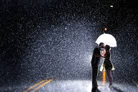 25+  Love Couples in Rain With Quotes Images