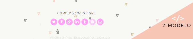 compartilhamento do post do blog