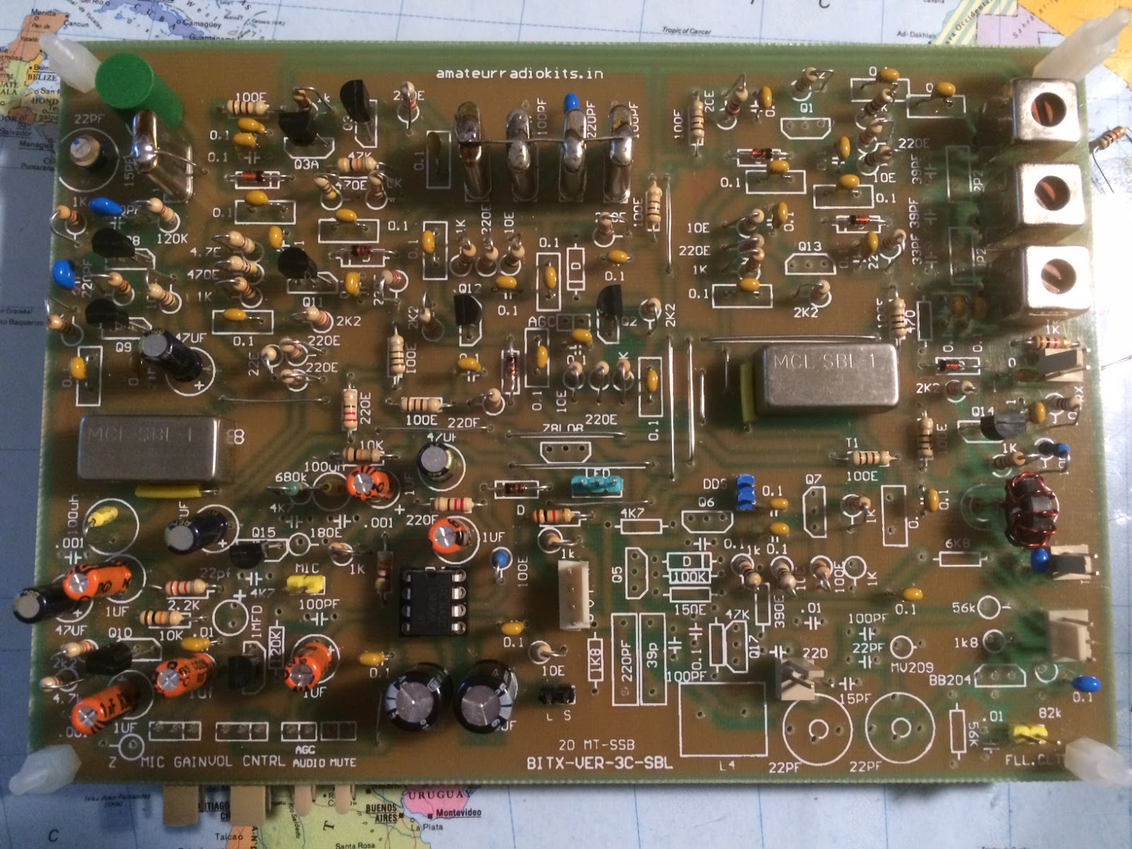 M0ICR - Radio and RF Electronics: Building the new Bitx for 40m