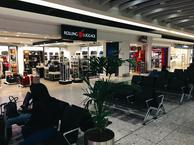 ロンドン・ヒースロー空港(London Heathrow Airport) Terminal 4