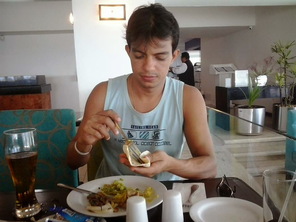 restaurante do resort - krystal cancun