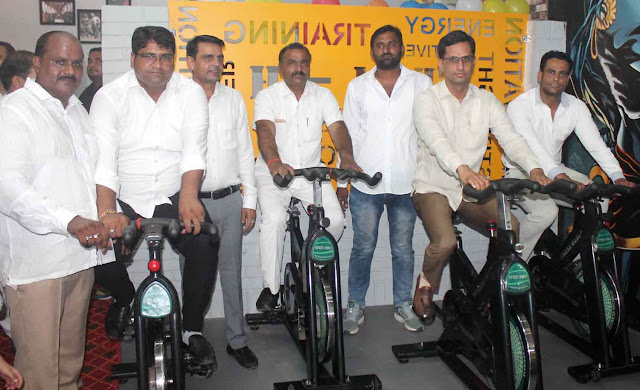 Devendra Chowdhury inaugurated team-H Fitnes gym in Bhupani, Greater Faridabad.