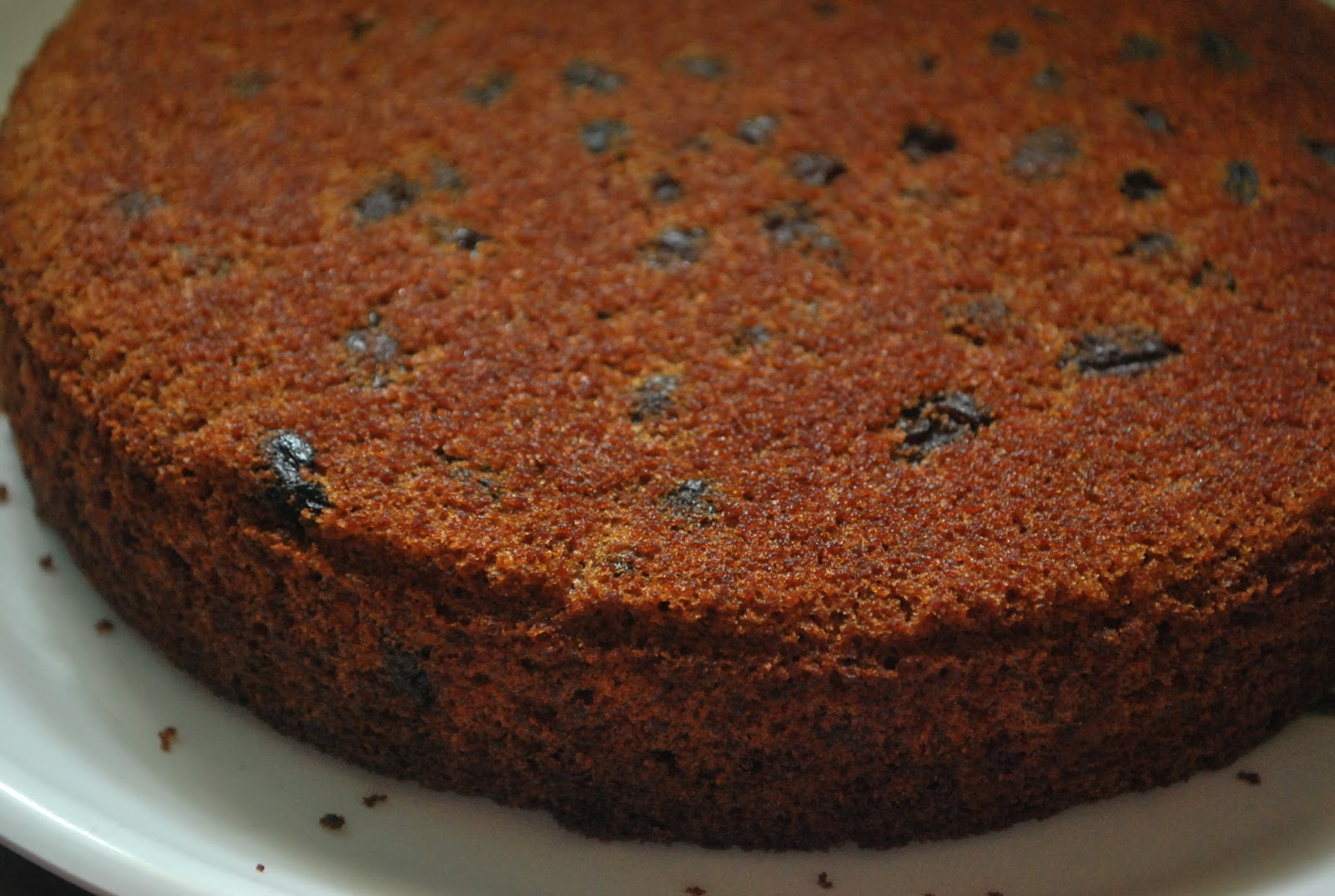 Chocolate Cake With Rum And Raisins