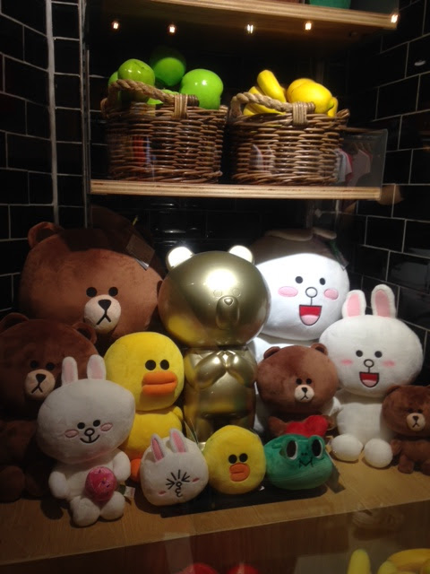 line friends app characters Bangkok Thailand