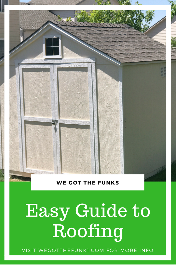 #RoofedItMyself #ad How To Roof, Easy Guide To Roofing Small Projects, Easy