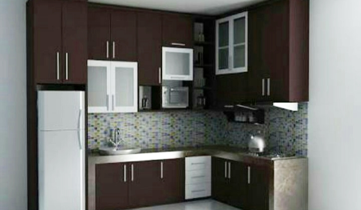 Membuat model dapur dan kitchen set minimalis dirumah for Kitchen set yang baik