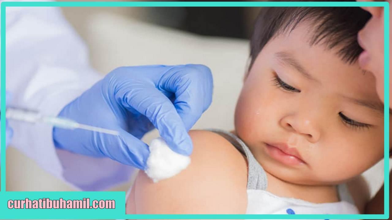 Apakah anak yang baru di imunisasi tidak boleh diberi susu?