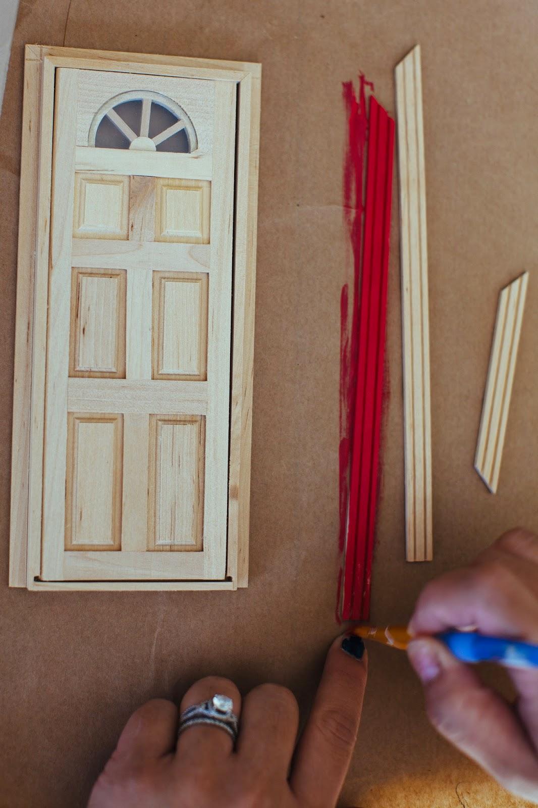 The parker project diy mouse door fairy door for Homemade elf door
