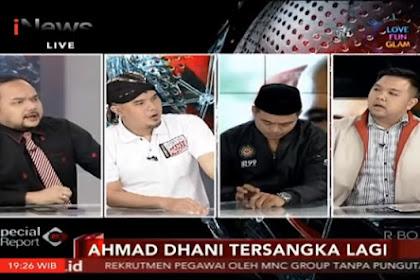 Debat di Salah Satu Stasiun TV Ngaco, Ahmad Dani Tinggalkan Meja Diskusi