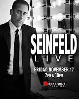 Jerry Seinfeld at Rosemont Theatre