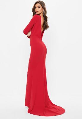 Vestidos Largos con Espalda Descubierta