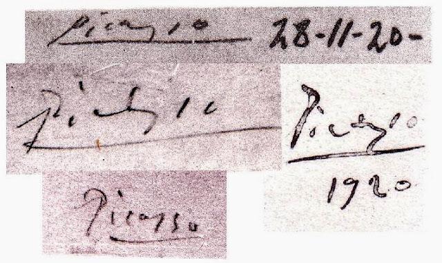 Firma de Picasso