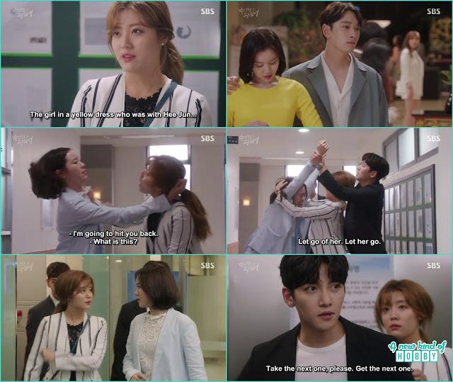 Bong hee cat fight with ji hae - Suspicious Partner: Episode 19 & 20 korean Drama