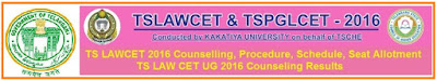 TS LAWCET 2016 Counselling