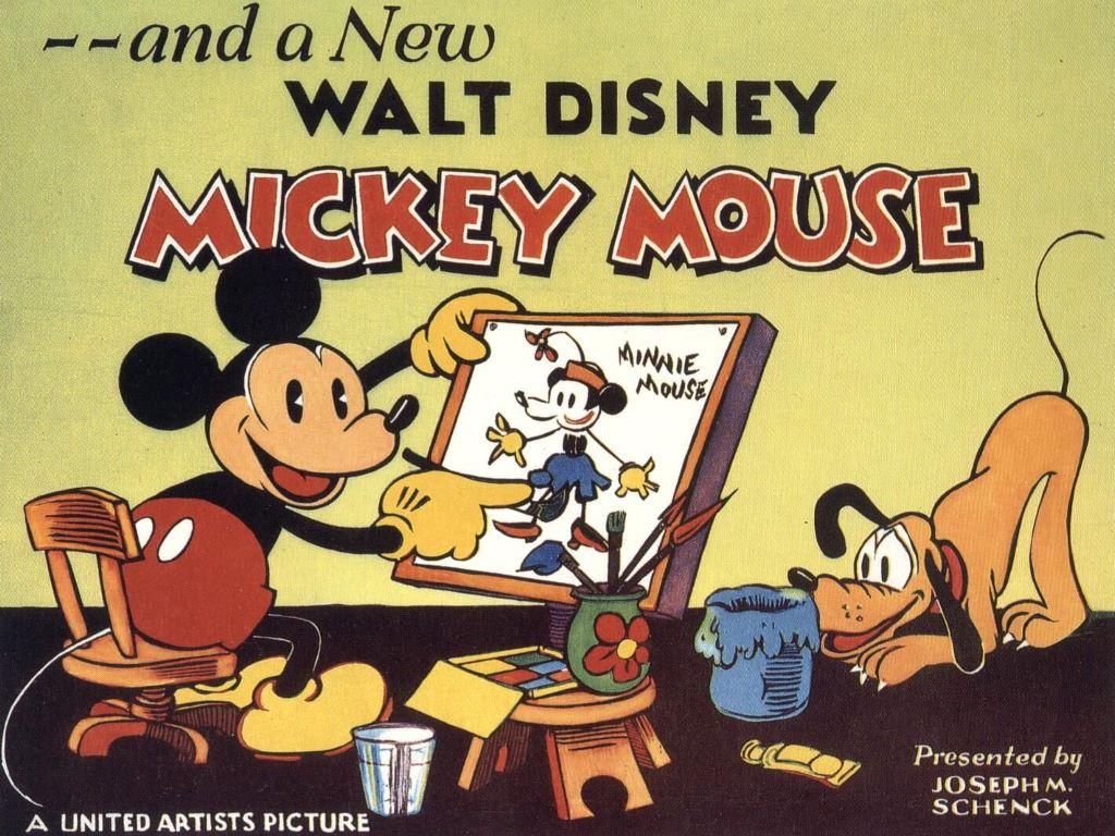 Super kuka papel de parede mickey mouse - Mickey mouse retro wallpaper ...