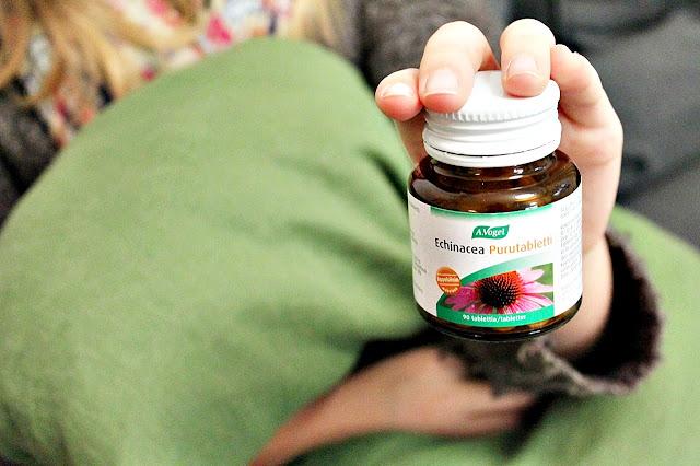 Echinacea Purutabletit lapsille