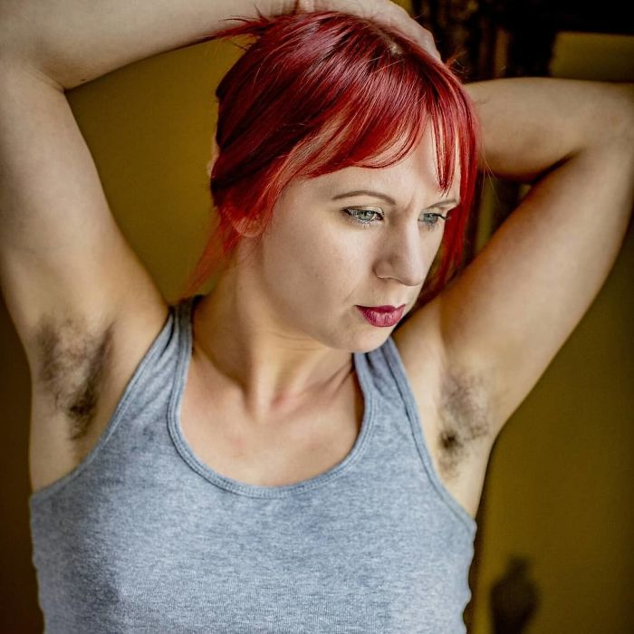 30 Powerful Pictures Of Women Who Chose Not To Shave For 'Januhairy'