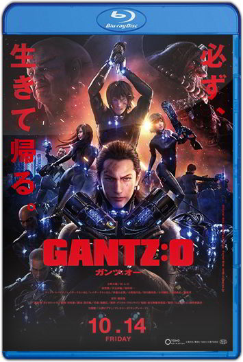 Gantz:O (2016) HD 1080p y 720p Latino