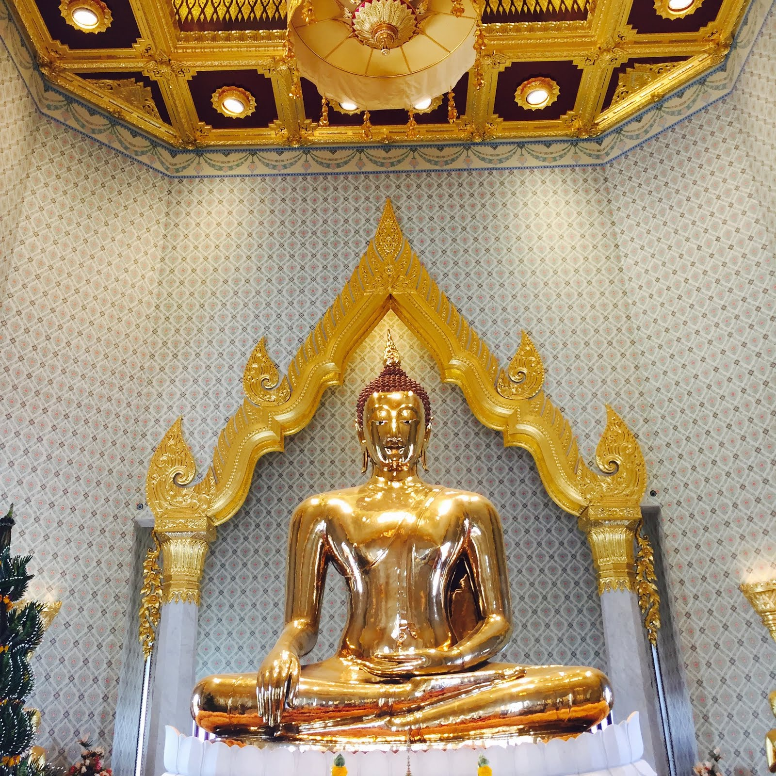 Golden Buddha in Bangkok, Thailand