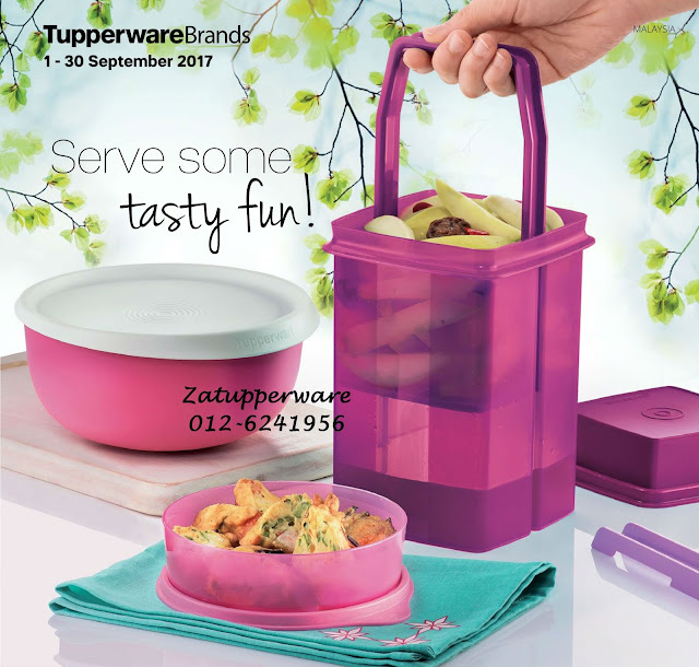 Tupperware Mini Catalogue 1st September - 30th September 2017
