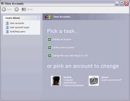 How to make a hidden user account
