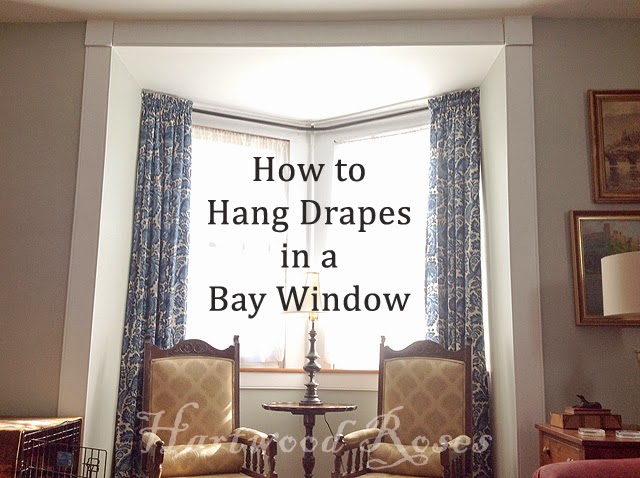 Hartwood Roses: Hey, Connie, How Did You Hang the Drapes ...