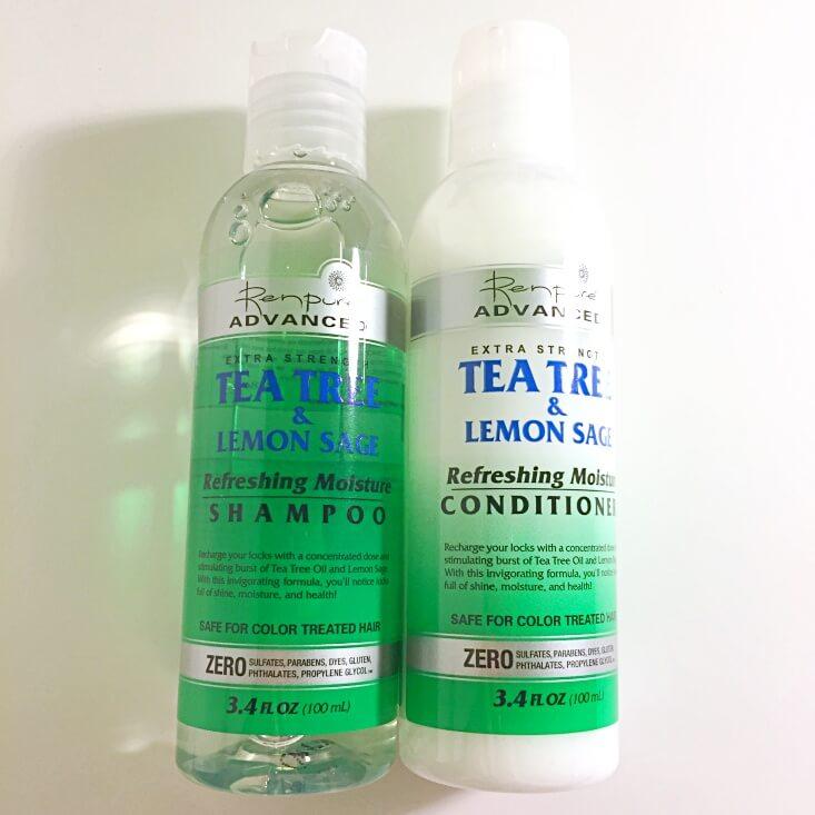 Renpure Advanced Tea Tree and Lemon Sage Shampoo and Conditioner