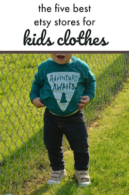 the five best etsy stores for kids clothes