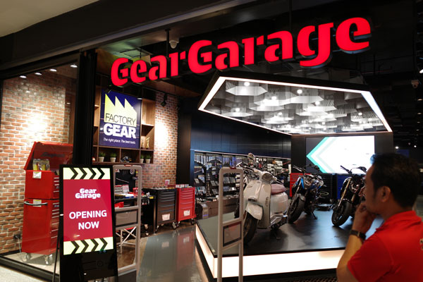 Gear Garage by FACTORYGEAR Bangkok